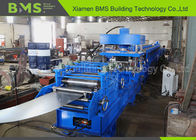 CE Highway Guard Rail Forming Machine For W Beam Guardrail With Gearbox Driven